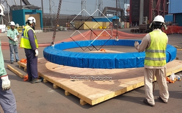 Gas Packing Bearing - Diam. 5m, 8 Tons - Oman