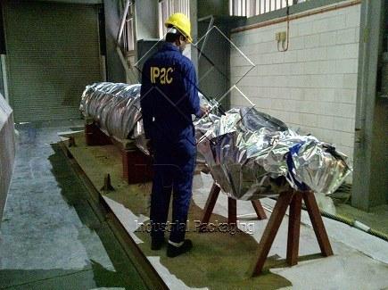 Vacuum Packing of Turbine (Pakistan)