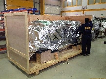 Vacuum Packing of engine - UAE