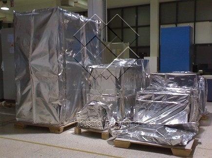 Vacuum Packing of Electronic cabinets - UAE