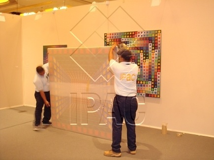 Packing of Painting - Abu Dhabi Art Fair