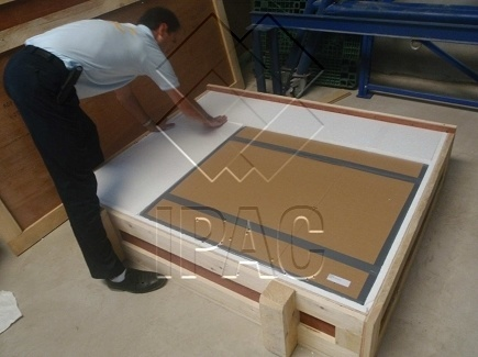 Packing of Painting - Abu Dhabi