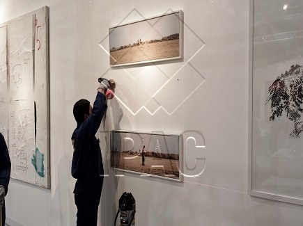 Exhibition Installation - Abu Dhabi Art Fair