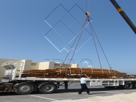 Transportation of bundles from Dubai to Sharjah