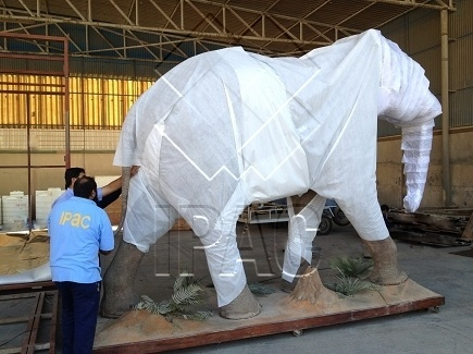 Packing of the elephant